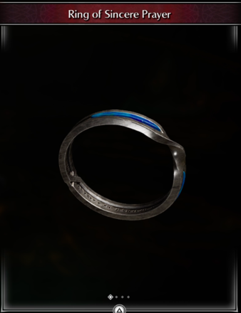 Ring of Sincere Prayer