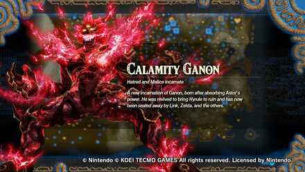 Hyrule Warriors: Age of Calamity - Calamity Ganon