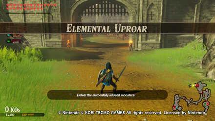 Elemental Uproar Banner