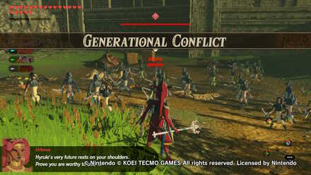 Generational Conflict Banner