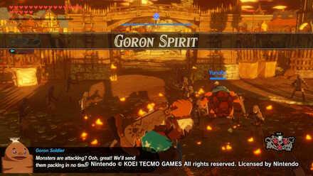 Goron Spirit Banner