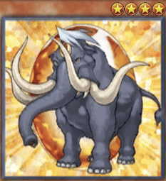 Crystal Beast Amber Mammoth