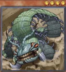Aztekipede the Worm Warrior