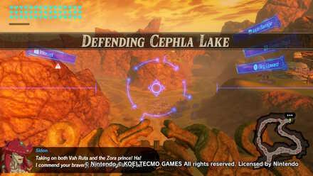 Defending Cephla Lake Banner