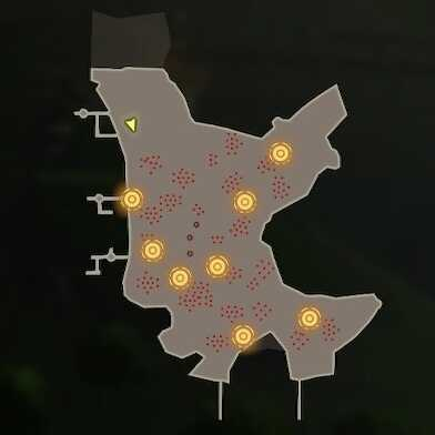 Volcanic Might Map