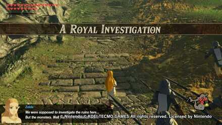 A Royal Investigation Banner