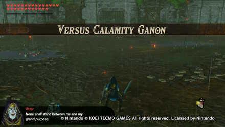 Versus Calamity Ganon Banner