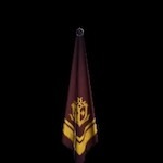 Gold Sigil Scarf (Brown) Pendant.png