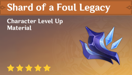 How to Get Shard of Foul Legacy and Effects
