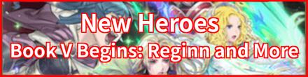 Book V Begins: Reginn and More Banner