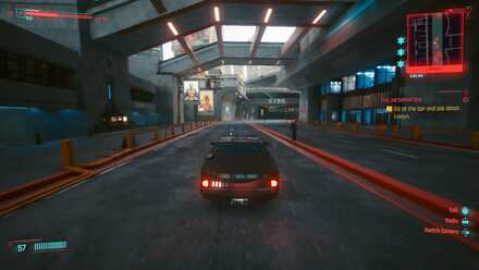 Cyberpunk 2077 - Drive Away From Police
