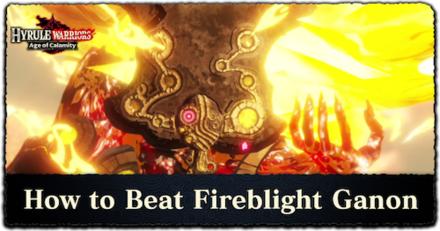 How to Beat Fireblight Ganon Banner
