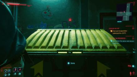 Cyberpunk 2077 - Hide Body Dumpster