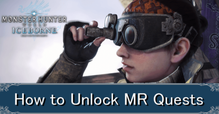how to unlock all iceborne quests master rank banner.png