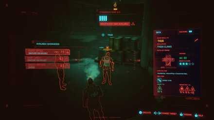 Cyberpunk 2077 - Tagging Enemies