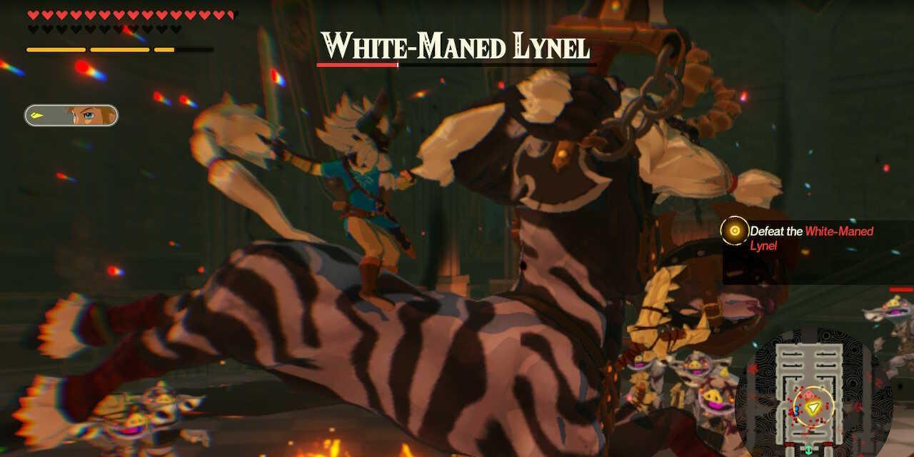 White-Maned Lynel