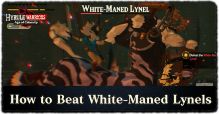 How To Beat White Maned Lynels Materials And Farming Locations Hyrule Warriors Age Of Calamity Game8