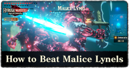 Boss Battle Guide How To Beat Malice Lynel Hyrule Warriors Age Of Calamity Game8