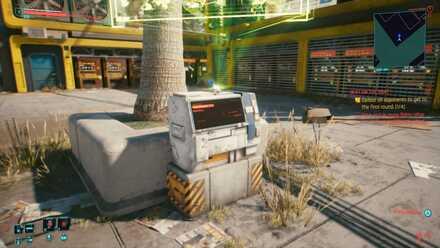 Cyberpunk 2077 - Fast Travel Closeup