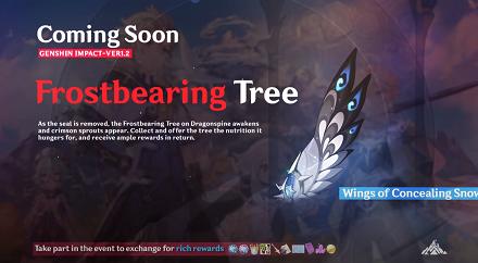 Genshin Impact - Frostbearing Tree