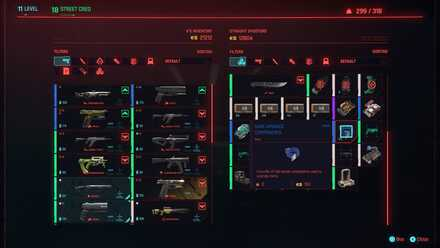 Cyberpunk 2077 - Buy Crafting Components