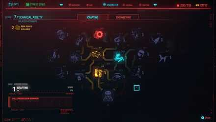 Cyberpunk 2077 - Technical Attribute