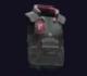 Arasaka Polycarbonate-Laced Bulletproof Aramid Vest