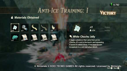 Ice Chuchu Anti-Ice Training I Rewards