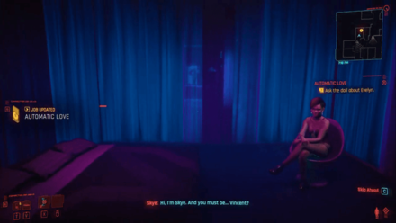 Cyberpunk 2077 - Sit on the Bed