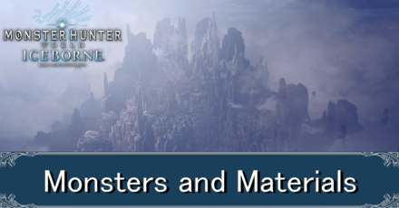 guiding lands monsters and materials banner.png