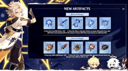 Genshin Impact - 1.2 Artifacts