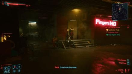 Cyberpunk 2077 - Find Finger