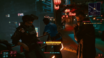 Cyberpunk 2077 - Meet Takemura