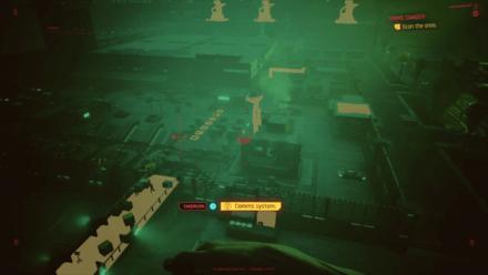 Cyberpunk 2077 - Scan the area
