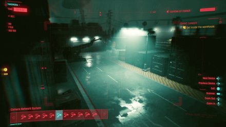 Cyberpunk 2077 - Break into Arasaca Industrial Park