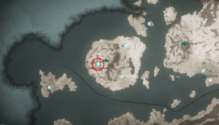 Cairn Mystery Torghatten Rock Hordafylke Location (AC Valhalla) - Map View.png