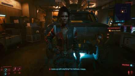 Cyberpunk 2077 - Meet Panam at midnight