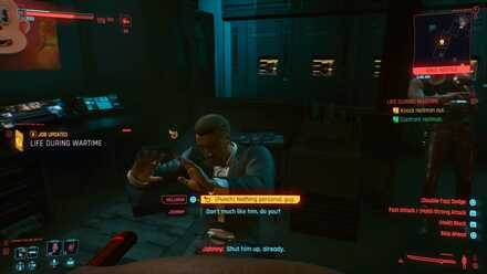 Cyberpunk 2077 - Knock Hellman out