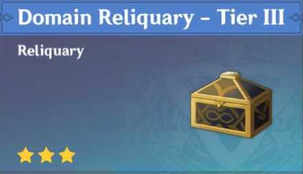 How to Get Domain Reliquary - Tier III<br> and Effects