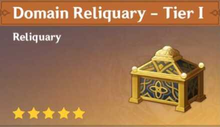 How to Get Domain Reliquary - Tier I and Effects
