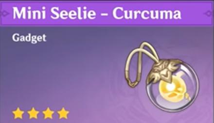 How to Get Mini Seelie - Curcuma and Effects