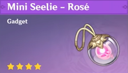 How to Get Mini Seelie - Rosé and Effects
