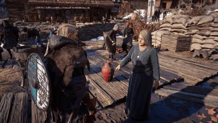 Rowdy Raiders - Save a woman