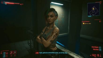 Cyberpunk 2077 - Talk to Judy