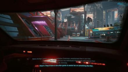 Cyberpunk 2077 - Ride with Judy