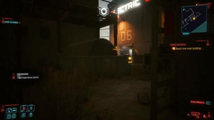 Cyberpunk 2077 - Reach the main building