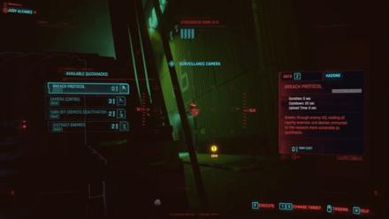 Cyberpunk 2077 - Use Cameras