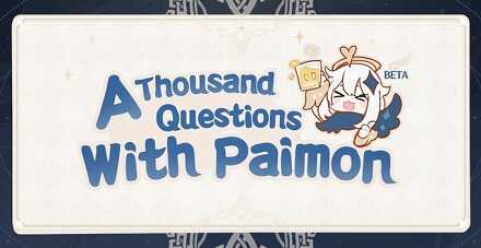 Genshin Impact - A Thousand Questions With Paimon Banner
