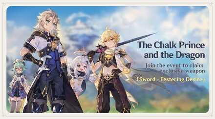 Genshin Impact - Chalk Prince and the Dragon - Banner.jpg
