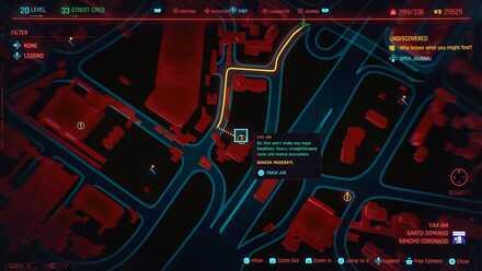 Cyberpunk 2077 - Gas Station